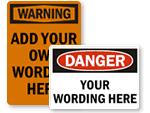 Custom OSHA Labels