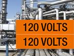 Voltage Marker Labels, Medium