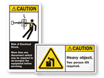 Caution Labels