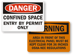 OSHA Labels | OSHA Safety Labels