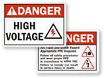ANSI Danger Labels