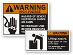 ANSI Warning Labels