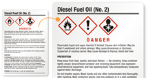 Free Diesel Fuel Oil Labels