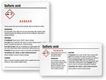 Free Sulfuric Acid Labels