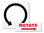 Machine Rotation Labels