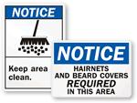 Notice Labels