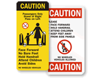Escalator and Elevator Safety Labels