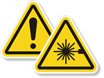 ISO Warnings Stickers