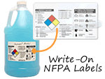 Write-On NFPA Labels