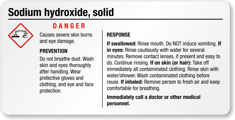 how to make dilute sodium hydroxide