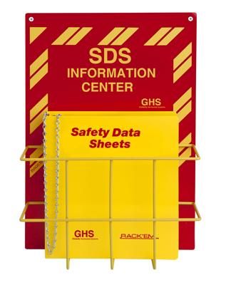 Safety Data Sheet Binder Wall Rack Fast Shipping Sku