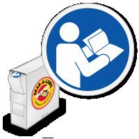 ISO Read Operator's Manual Symbol Grab-a-Labels Dispenser Box