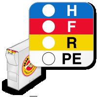 RTK Color Bar Labels