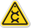 Carcinogen ISO Warning Symbol Label
