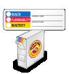 Paper HMIS HMIG Chemical Label