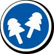 Wear Ear Plugs ISO Mandatory Safety Label