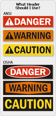 When to Use Danger Signs