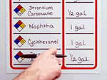 Magnetic HazCom Signs