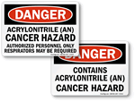 Acrylonitrile Cancer Hazard Signs