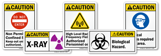 ANSI Caution Labels