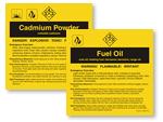 C-F Chemical Labels