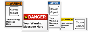 ANSI Z535 Custom Safety Labels