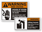 ANSI Warning Labels