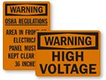 OSHA Warning Labels