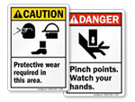ANSI Safety Labels