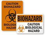 Biological Hazard Stickers