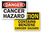 Cancer Hazard Signs
