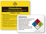 Chloroform Labels