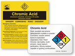 Chromic Acid Labels