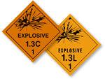 Class 1.3 Explosives