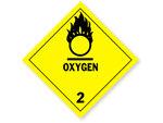 Class 2 Oxygen Labels
