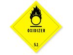 Class 5 Oxidizer Labels