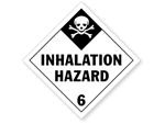 Class 6 Inhalation Hazard Labels