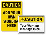 Caution Labels