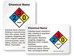 Custom HazCom Or Chemical Labels