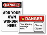 Danger Labels
