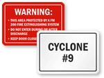 Custom Industrial Signs