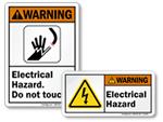 Electrical Hazard Labels