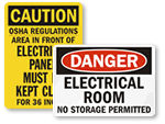 Electrical Safety Signs