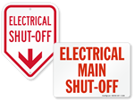 Shut-Off Labels