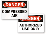 Danger Labels
