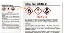Free Diesel Fuel Oil Labels