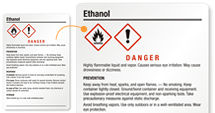 Free Ethanol Labels
