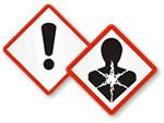 OSHA GHS Safety Labels
