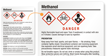 Methanol Labels