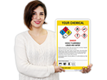 GHS+NFPA Combo Signs